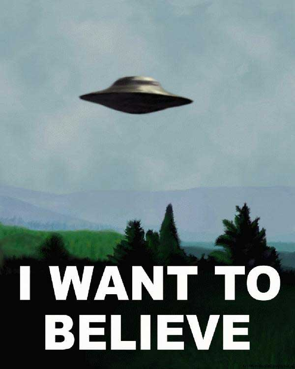 I may not know much about 'X-Files,' but I know a good Internet meme when I see one...